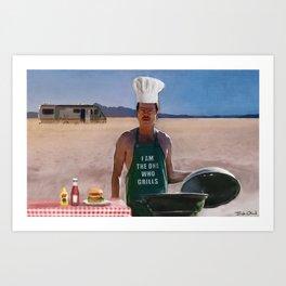 Heisenburgers - Walter White - Breaking Bad Art Print