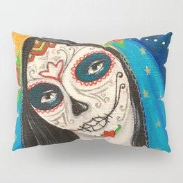 Mary Muerta Pillow Sham