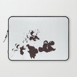 black and white duck Laptop Sleeve