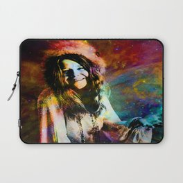 1970 Woman Of Rock And Roll By Annie Zeno Laptop Sleeve