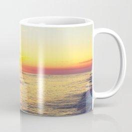 Summer Sunset Ocean Beach - Nature Photography Coffee Mug