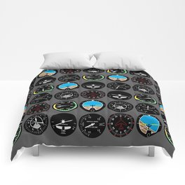 Flight Instruments Comforters