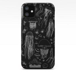 Jellies (Black) iPhone Case