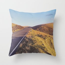 Mountain Road, TT Isle of Man. Throw Pillow