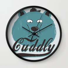 Cuddly Wall Clock