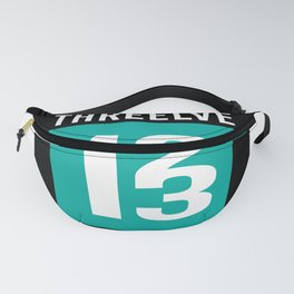 Threelve Impossible Number Nerd Math Fanny Pack
