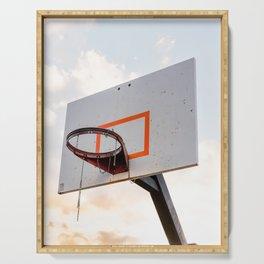 basketball hoop 4 Serving Tray