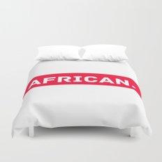 AFRICAN Duvet Cover