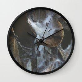 fluff Wall Clock