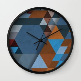 Geometrical Beginnings Wall Clock