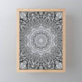 Zen Tree 1 Framed Mini Art Print