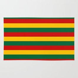 lithuania benin burkina faso flag stripes Rug