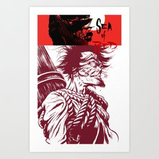 Sea of Red Art Print