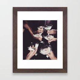 Shaken not Stirred Framed Art Print