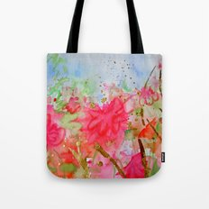 Le Jardin Coral Tote Bag