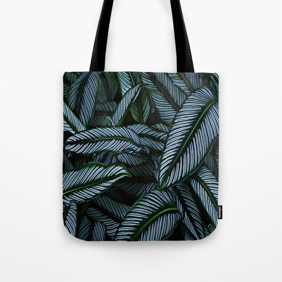 Night Tropic 5 Tote Bag