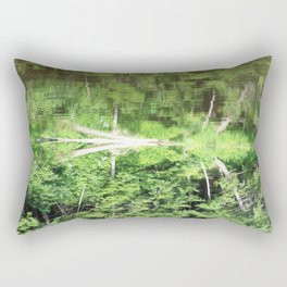 With arms Outstretched Rectangular Pillow