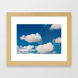 Samuel Beckett bridge Dublin Framed Art Print