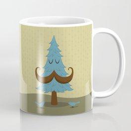 Mr. Mustache tree Coffee Mug