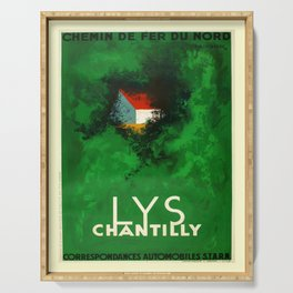 retro Lys Chantilly Serving Tray