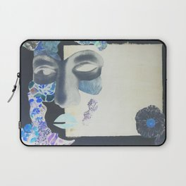 portrait: people have sides & sometimes we hide them Laptop Sleeve