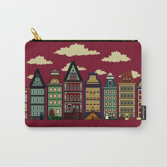 Amsterdam red Carry-All Pouch