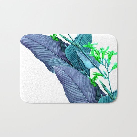 Leaf feathers Bath Mat