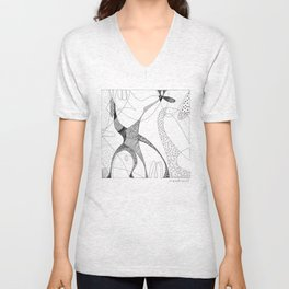 animorph 03 - giraffe Unisex V-Neck