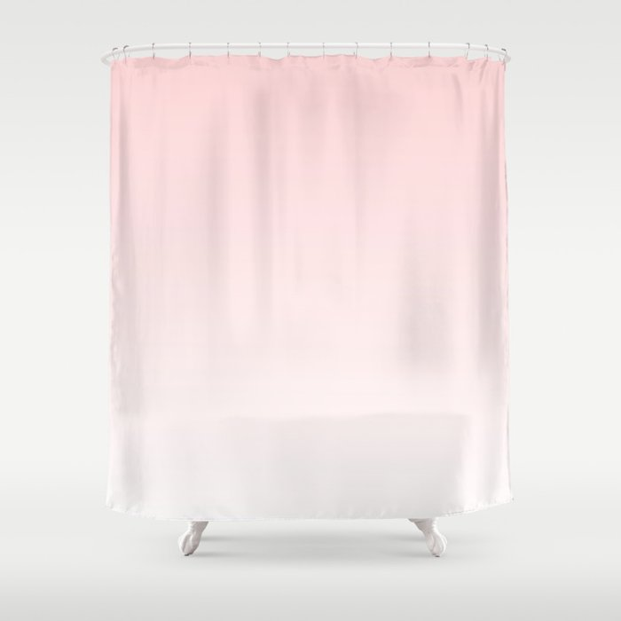 Pastel Pink Ombre Shower Curtain by siobhaniaa | Society6