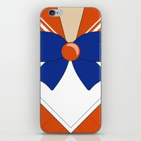 sailor venus iPhone & iPod Skins featuring Sailor Venus by kscullington | kristina anne