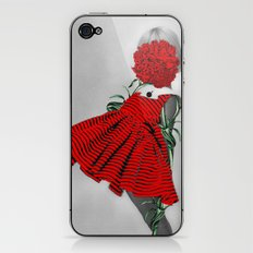 RED CARNATION iPhone & iPod Skin