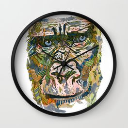 Disco Gorilla  Wall Clock