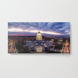 Capitol Square - Nov 2020 Metal Print