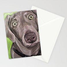 Weimaraner  Stationery Cards