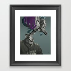 ways of a warhead Framed Art Print