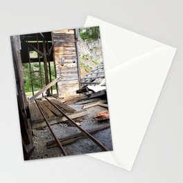 Exploring the Longfellow Mine of the Gold Rush - A Series, No. 8 of 9 Stationery Cards