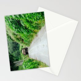 Le tracteur (Azores) Stationery Cards