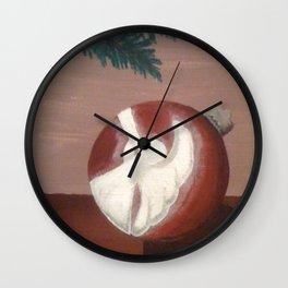 Christmas Angel Ornament Wall Clock