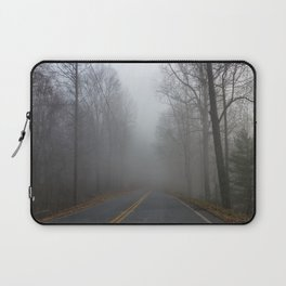Foggy road Laptop Sleeve