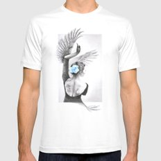 The Swan Mens Fitted Tee White MEDIUM