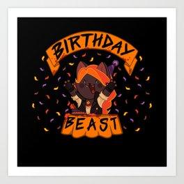Birthday Beast (2018) Art Print