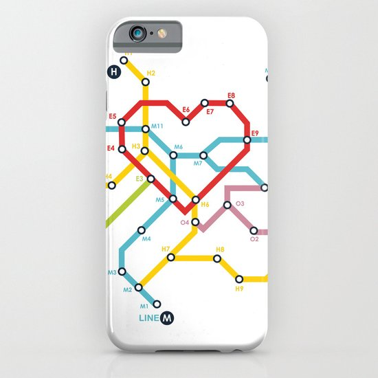 Home Where The Heart Is iPhone & iPod Case