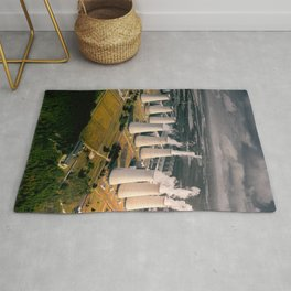 Coal Power Plant in Germany Rug