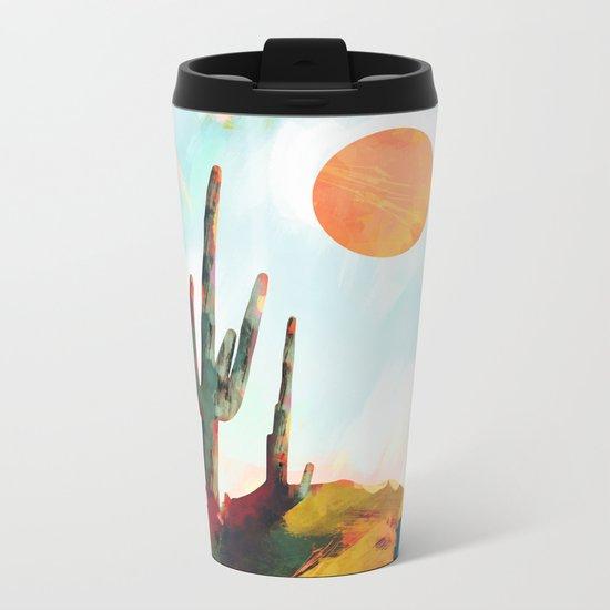 Desert Day Metal Travel Mug