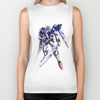 gundam Biker Tanks featuring Gundam Wing by bimorecreative