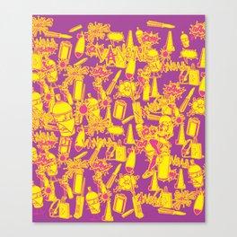 BRIGHT VANDAL CLASSICS Canvas Print