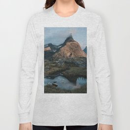 Romsdalshorn - Landscape and Nature Photography Long Sleeve T-shirt