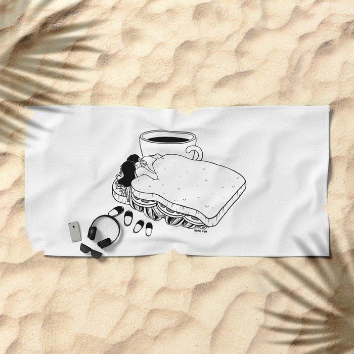 Breakfast Included Beach Towel
