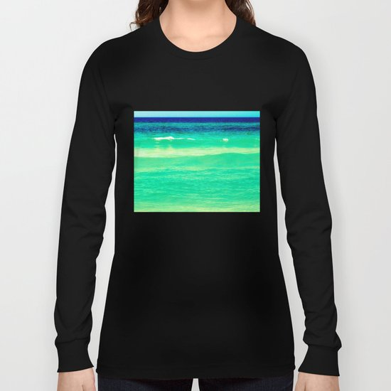 layers of blue Long Sleeve T-shirt