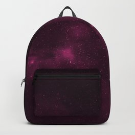 Fascinating view of the pink cosmic sky Backpack